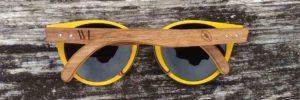 bannière lunettes en bois custom series