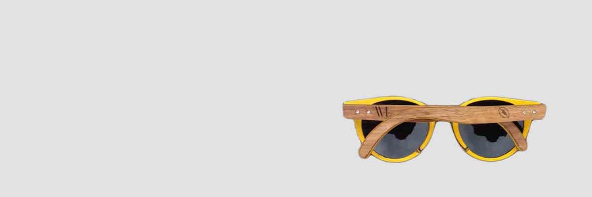 mage lunettes de soleil en bois personnalisable