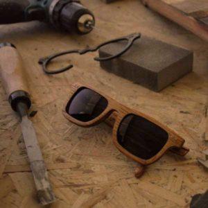 image lunettes en bois fabrication française