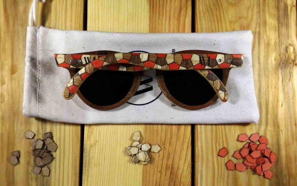 Découvrez notre collection de lunettes de soleil en bois et marqueterie